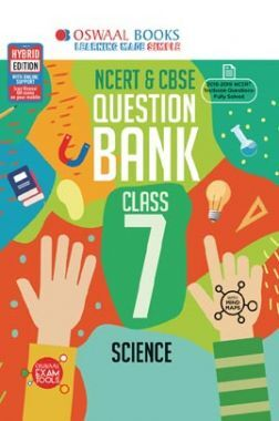 Oswaal NCERT & CBSE Question Bank For Class - VII Science (For March 2020 Exam)