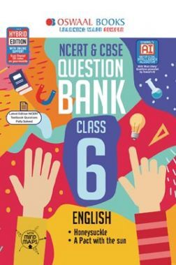 Oswaal NCERT & CBSE Question Bank For Class - VI English (For March 2020 Exam)