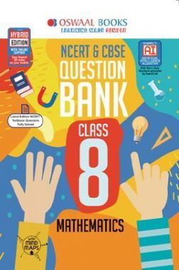 Oswaal NCERT & CBSE Question Bank For Class - VIII Mathematics (For March 2020 Exam)
