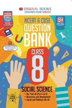 Oswaal NCERT & CBSE Question Bank For Class - VIII Social Science (For March 2020 Exam)