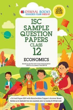 Oswaal ISC Sample Question Papers For Class - XII Economics (For 2020 Exam)