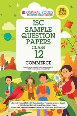 Oswaal ISC Sample Question Papers For Class - XII Commerce (For 2020 Exam)