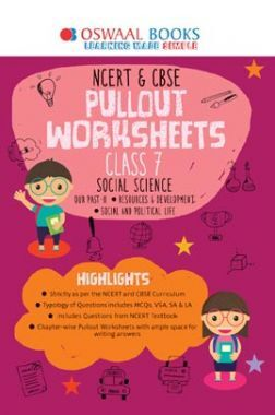 Oswaal NCERT & CBSE Pullout Worksheets Class VII Social Science (For March 2020 Exam)