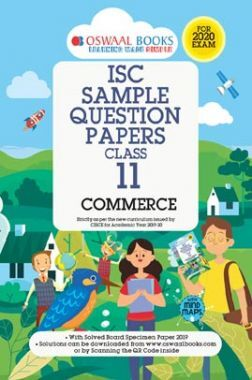 Oswaal ISC Sample Question Paper Class XI Commerce (For 2020 Exam)