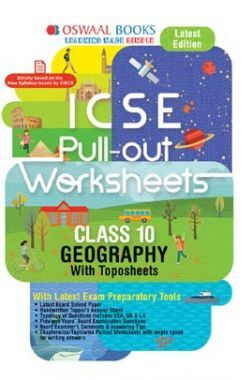 Oswaal ICSE Pullout Worksheet For Class X Geography (For March 2020 Exam)
