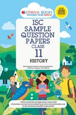 Oswaal ISC Sample Question Paper For Class XI History (For 2020 Exam)