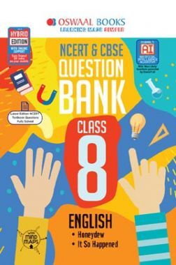 Oswaal NCERT & CBSE Question Bank For Class VIII English (For March 2020 Exam)