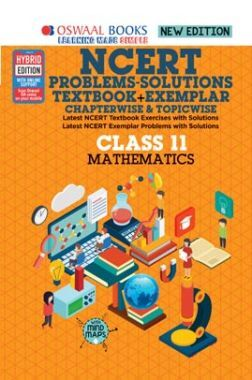 Oswaal NCERT Problems - Solutions (Textbook + Exemplar) For Class XI Mathematics (For March 2020 Exam)