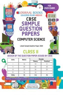 Oswaal CBSE Sample Question Paper For Class XI Computer Science (For March 2020 Exam)
