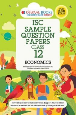 Oswaal ISC Sample Question Papers 1 For Class XII Economics (March 2020 Exams)