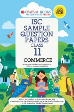 Oswaal ISC Sample Question Papers 2 For Class XI Commerce (March 2020 Exams)