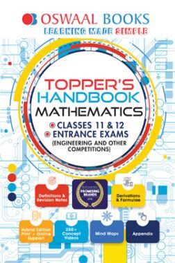 Oswaal Topper's Handbook Mathematics For Classes XI & XII Entrance Exams (Engineering & Other Competitions)
