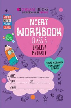 Oswaal NCERT Workbook English Marigold For Class - III (March 2021 Exam)