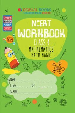 Oswaal NCERT Workbook Mathematics Math Magic For Class - IV (March 2021 Exam)