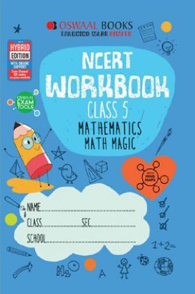 Oswaal NCERT Workbook Mathematics Math Magic For Class - V (March 2021 Exam)