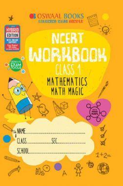 Oswaal NCERT Workbook Mathematics Math Magic For Class - I (March 2021 Exam)