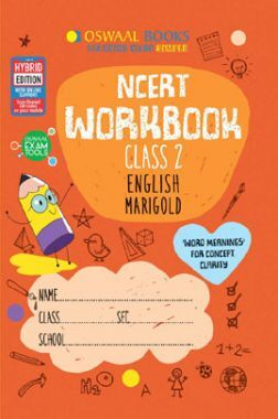 Oswaal NCERT Workbook English Marigold For Class - II (March 2021 Exam)