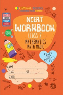 Oswaal NCERT Workbook Mathematics Math Magic For Class - II (March 2021 Exam)