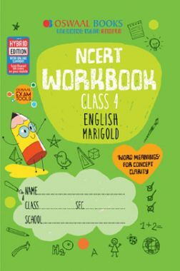 Oswaal NCERT Workbook English Marigold For Class - IV (March 2021 Exam)