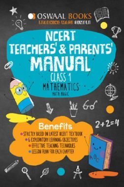 Oswaal NCERT Teachers & Parents Manual Mathematics Math Magic For Class - I (March 2021 Exam)