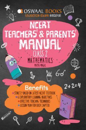 Oswaal NCERT Teachers & Parents Manual Mathematics Math Magic For Class - II (March 2021 Exam)