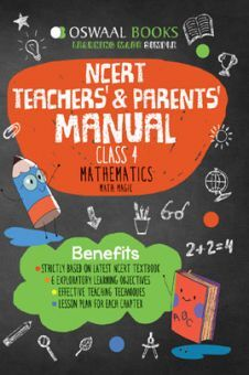 Oswaal NCERT Teachers & Parents Manual Mathematics Math Magic For Class - IV (March 2021 Exam)