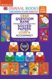 Oswaal CBSE Question Bank Chapterwise & Topicwise Solved Papers For Class - XII Accountancy (March 2021 Exam)