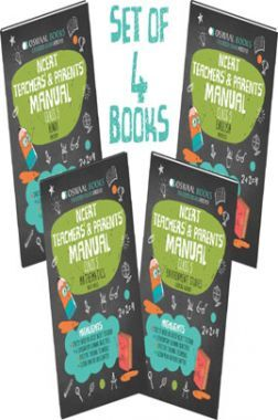 Oswaal NCERT Teachers & Parents Manual For Class 5 (Set of 4 Books) Math Magic, English Marigold, Hindi Rimjhim, Environmental Studies Looking Around (For March 2021 Exam)