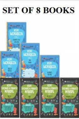 Oswaal NCERT Workbook With Teachers & Parents Manual For Class 5 (Set of 8 Books) Math Magic, English Marigold, Hindi Rimjhim, Environmental Studies Looking Around (For March 2021 Exam)