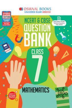 Oswaal NCERT & CBSE Question Bank For Class - VII Mathematics (March 2021 Exam)