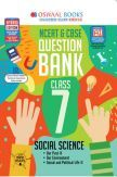 Oswaal NCERT & CBSE Question Bank For Class - VII Social Science (March 2021 Exam)