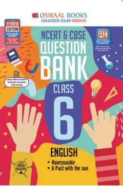 Oswaal NCERT & CBSE Question Bank For Class - VI English (March 2021 Exam)