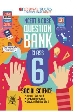 Oswaal NCERT & CBSE Question Bank For Class - VI Social Science (March 2021 Exam)
