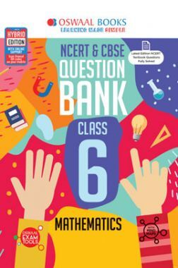 Oswaal NCERT & CBSE Question Bank For Class - VI Mathematics (March 2021 Exam)