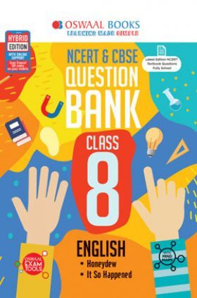Oswaal NCERT & CBSE Question Bank For Class - VIII English (March 2021 Exam)