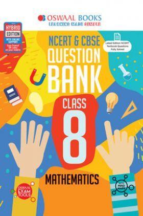 Oswaal NCERT & CBSE Question Bank For Class - VIII Mathematics (March 2021 Exam)