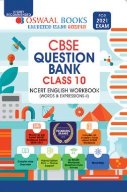 Oswaal CBSE Question Bank For Class - X NCERT English Workbook (March 2021 Exam)