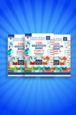 Oswaal CBSE Question Bank For Class - X (Set of 3 Books) Science, Social Science & Mathematics Standard (For 2021 Exam)