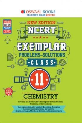 Oswaal NCERT Exemplar (Problems - Solutions) For Class - XI Chemistry (For March 2021 Exam)