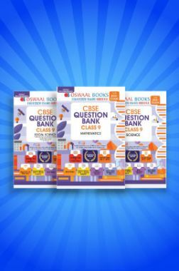 Oswaal CBSE Question Bank For Class - IX (Set of 3 Books) Science, Social Science And Mathematics (For March 2021 Exams)