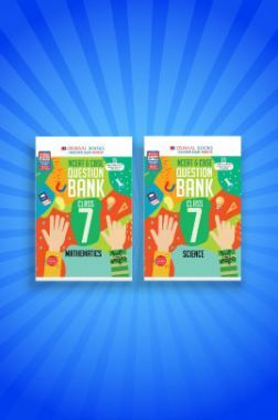 Oswaal NCERT & CBSE Question Bank For Class - VII (Set of 2 Books) Mathematics, Science (For 2021 Exams)