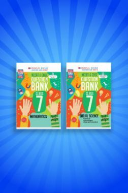 Oswaal NCERT & CBSE Question Bank For Class - VII (Set of 2 Books) Mathematics, Social Science (For 2021 Exams)