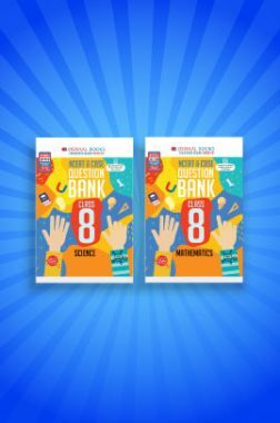Oswaal NCERT & CBSE Question Bank For Class - VIII (Set of 2 Books) Mathematics, Science (For 2021 Exams)