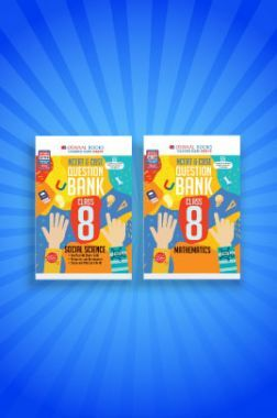 Oswaal NCERT & CBSE Question Bank For Class - VIII (Set of 2 Books) Mathematics, Social Science (For 2021 Exams)