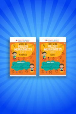 Oswaal NCERT & CBSE Pullout Worksheets For Class - VI (Set of 2 Books) Mathematics, Science (For 2021 Exams)