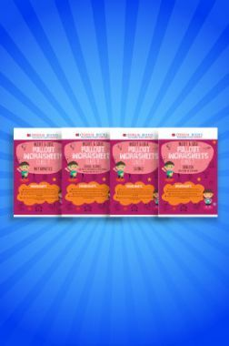 Oswaal NCERT & CBSE Pullout Worksheets For Class - VII (Set of 4 Books) English, Mathematics, Science, Social Science (For 2021 Exams)