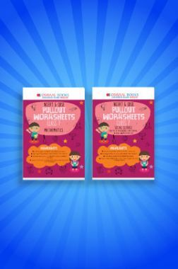 Oswaal NCERT & CBSE Pullout Worksheets For Class - VII (Set of 2 Books) Mathematics, Social Science (For 2021 Exams)