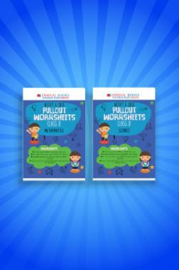 Oswaal NCERT & CBSE Pullout Worksheets For Class - VIII (Set of 2 Books) Mathematics, Science (For 2021 Exams)