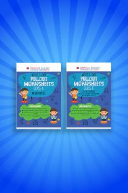 Oswaal NCERT & CBSE Pullout Worksheets For Class - VIII (Set of 2 Books) Mathematics, Social Science (For 2021 Exams)