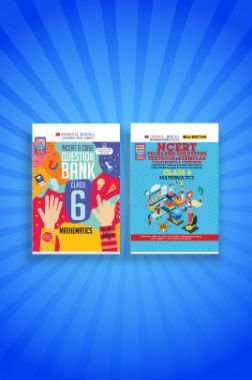 Oswaal NCERT & CBSE Question Bank + Problems - Solutions (Textbook + Exemplar) For Class - VI (Set of 2 Books) Mathematics (For 2021 Exams)